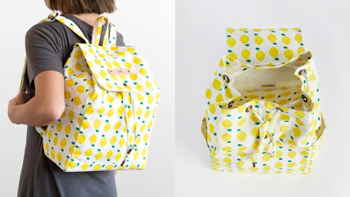 This bright backpack is a great gift for students.