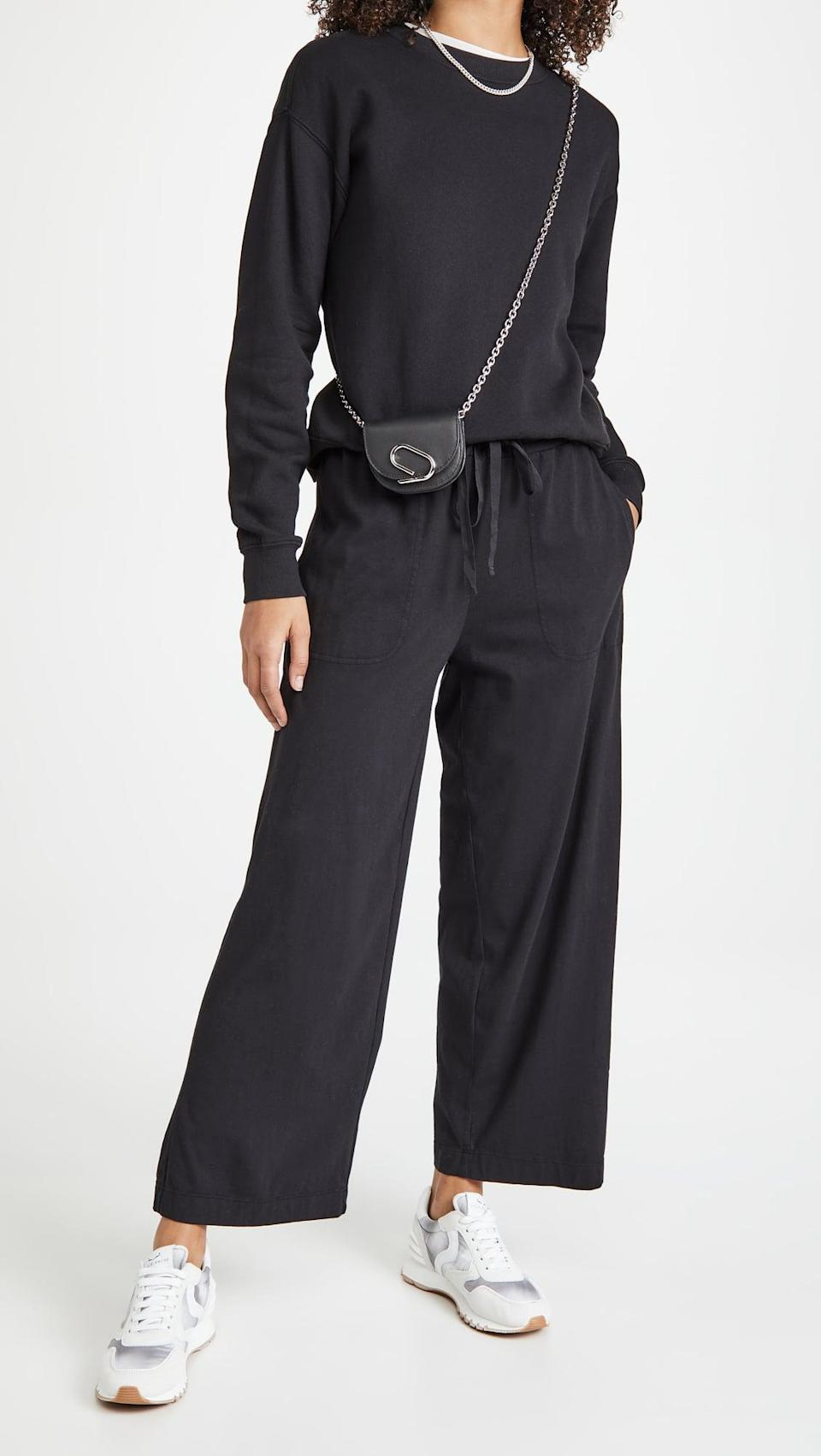 <p>These <span>Velvet Pismo Jersey Pants</span> ($124) are cool enough to rock outside of the house.</p>