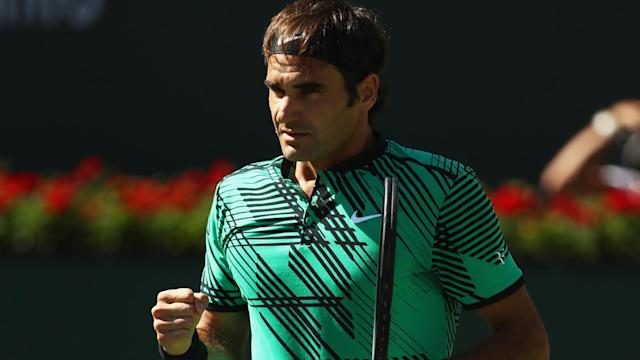 Roger Federer put on another sublime show at Indian Wells to win the 90th ATP singles title of his career.