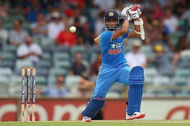 Ajinkya Rahane made the most of his opportunity to bat at No.4 for India in ODIs