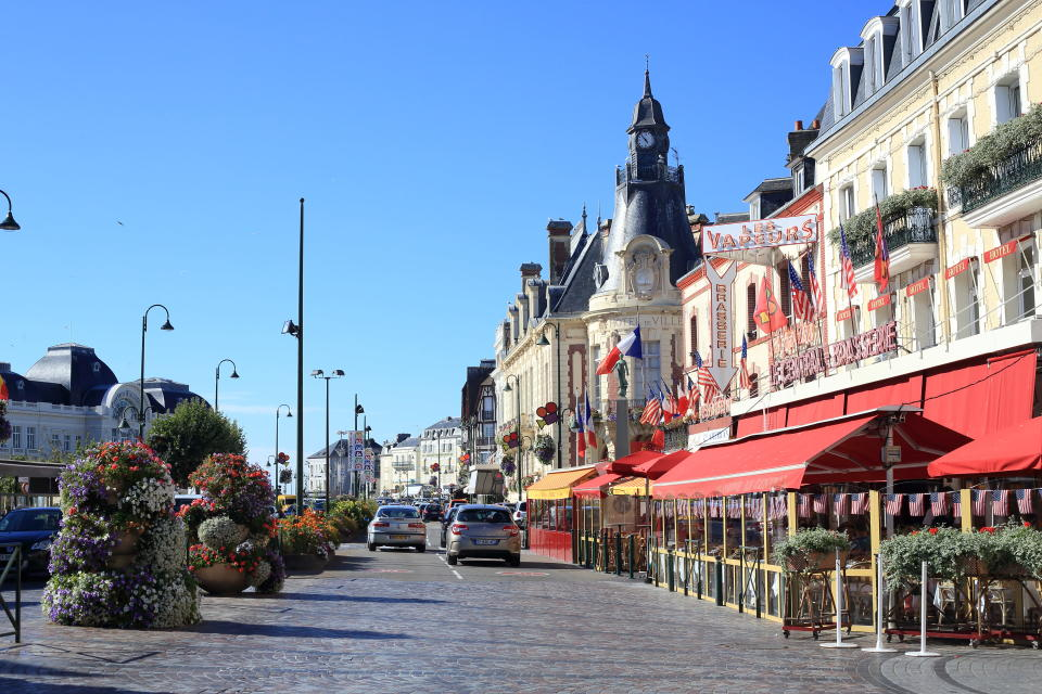 Blue skies over Trouville (Getty Images)