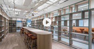 Showcase of a 3D real estate introduction made by Cushman & Wakefield in Japan.