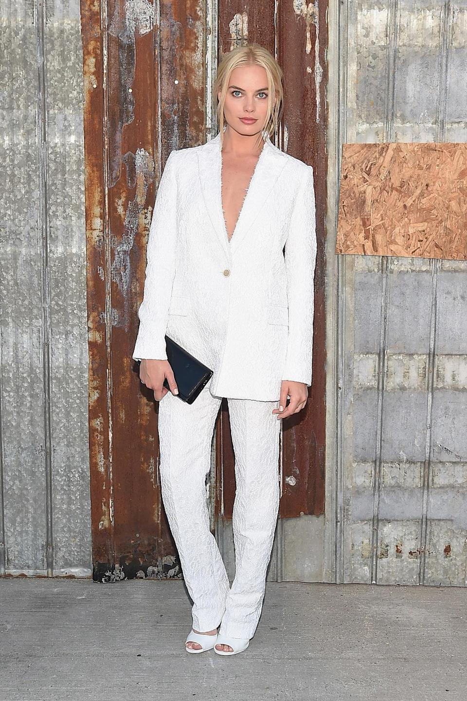 """<h2>In Givenchy</h2> <p>At the Givenchy NYFW show, 2015</p> <h4>Getty Images</h4> <p> <strong>Related Articles</strong> <ul> <li><a rel=""""nofollow noopener"""" href=""""http://thezoereport.com/fashion/style-tips/box-of-style-ways-to-wear-cape-trend/?utm_source=yahoo&utm_medium=syndication"""" target=""""_blank"""" data-ylk=""""slk:The Key Styling Piece Your Wardrobe Needs"""" class=""""link rapid-noclick-resp"""">The Key Styling Piece Your Wardrobe Needs</a></li><li><a rel=""""nofollow noopener"""" href=""""http://thezoereport.com/fashion/shopping/everything-need-let-zoe-giveaway/?utm_source=yahoo&utm_medium=syndication"""" target=""""_blank"""" data-ylk=""""slk:Everything You Need From Our Let It Zoe Giveaway"""" class=""""link rapid-noclick-resp"""">Everything You Need From Our Let It Zoe Giveaway</a></li><li><a rel=""""nofollow noopener"""" href=""""http://thezoereport.com/beauty/celebrity-beauty/josephine-skriver-makeup-tutorial-video-vogue/?utm_source=yahoo&utm_medium=syndication"""" target=""""_blank"""" data-ylk=""""slk:A Victoria's Secret Model Shows Us How To Get Our Lips To Her Level"""" class=""""link rapid-noclick-resp"""">A Victoria's Secret Model Shows Us How To Get Our Lips To Her Level</a></li> </ul> </p>"""