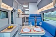 """<p>La Strada's website describes the Nova EB as both a """"mobile luxury hotel"""" and a """"rolling space miracle.""""</p><p><a class=""""link rapid-noclick-resp"""" href=""""https://www.gearpatrol.com/cars/a681808/luxury-camper-van-la-strada-nova-eb/"""" rel=""""nofollow noopener"""" target=""""_blank"""" data-ylk=""""slk:LEARN MORE"""">LEARN MORE</a></p>"""