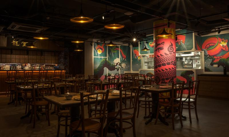 The main dining area. Photo: The Dragon Chamber