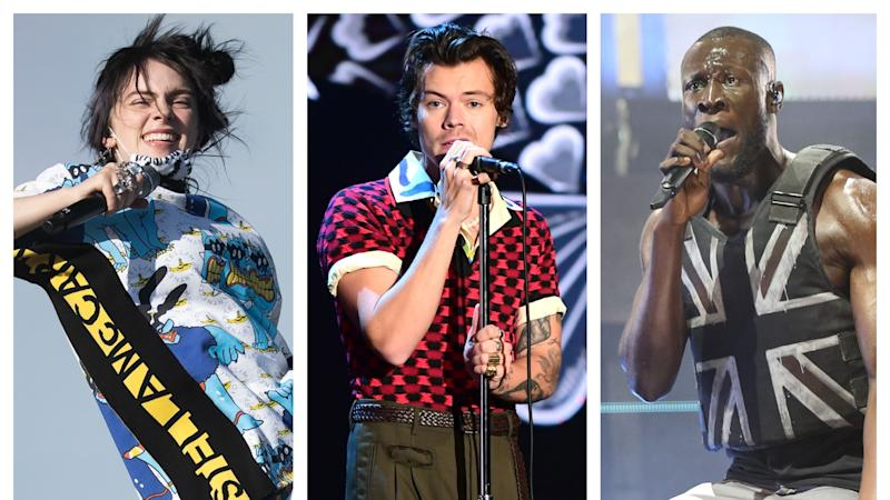 Billie Eilish, Harry Styles and Stormzy among Brits performers