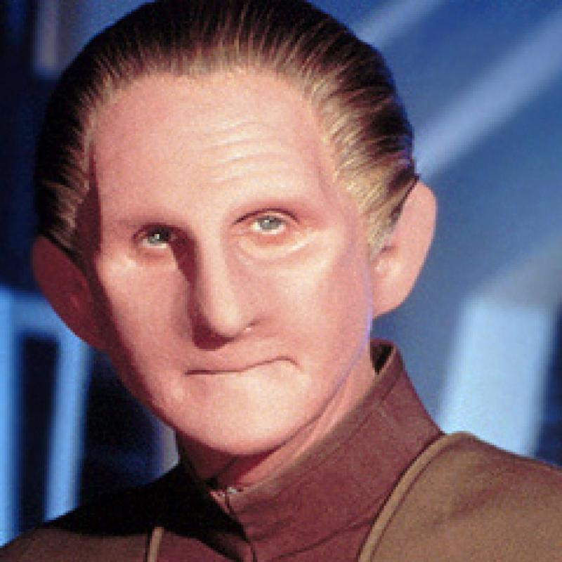 René Auberjonois as Odo in Deep Space Nine (Credit: Paramount)