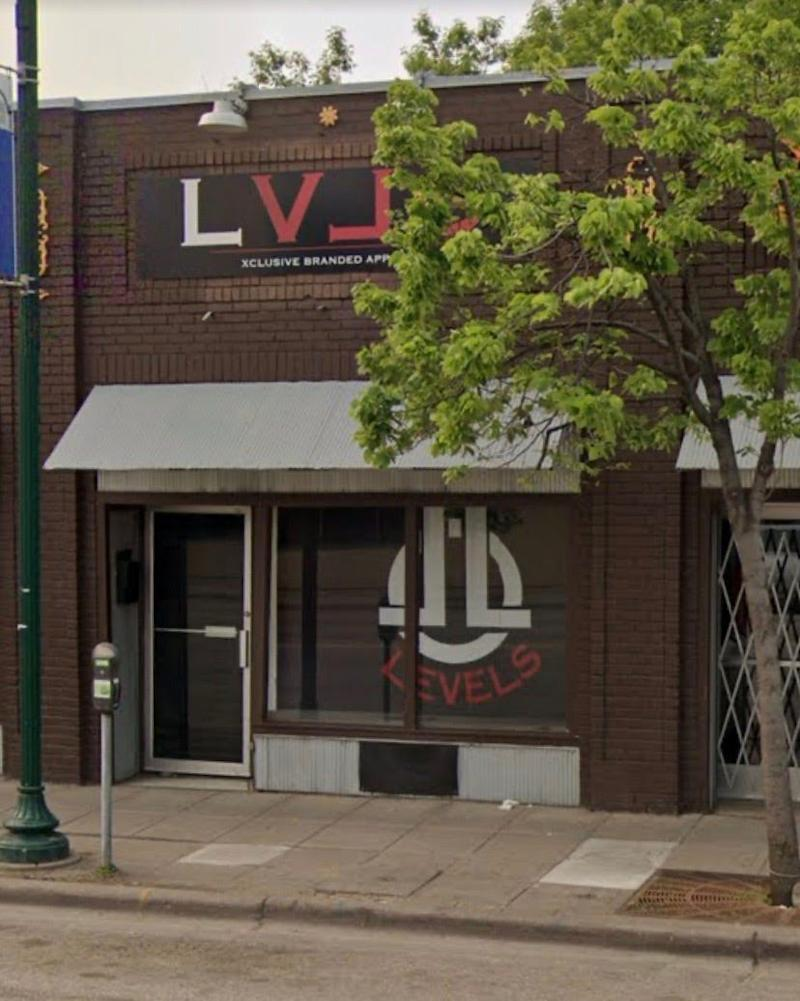 An undated photo of Levels, a southern Minneapolis business that sold clothes and had a recording studio. The black-owned business was opened five years before it burnt down last week amid demonstrations following George Floyd's death.