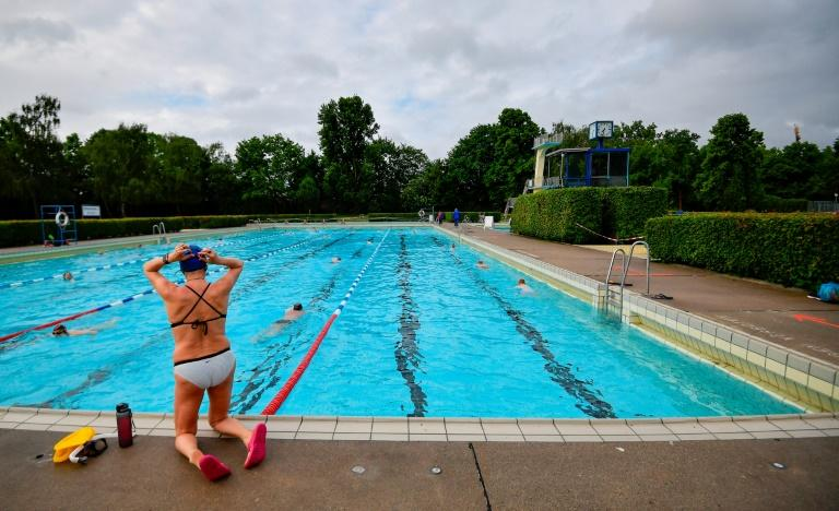 Pools in Germany reopened with social distancing rules in force