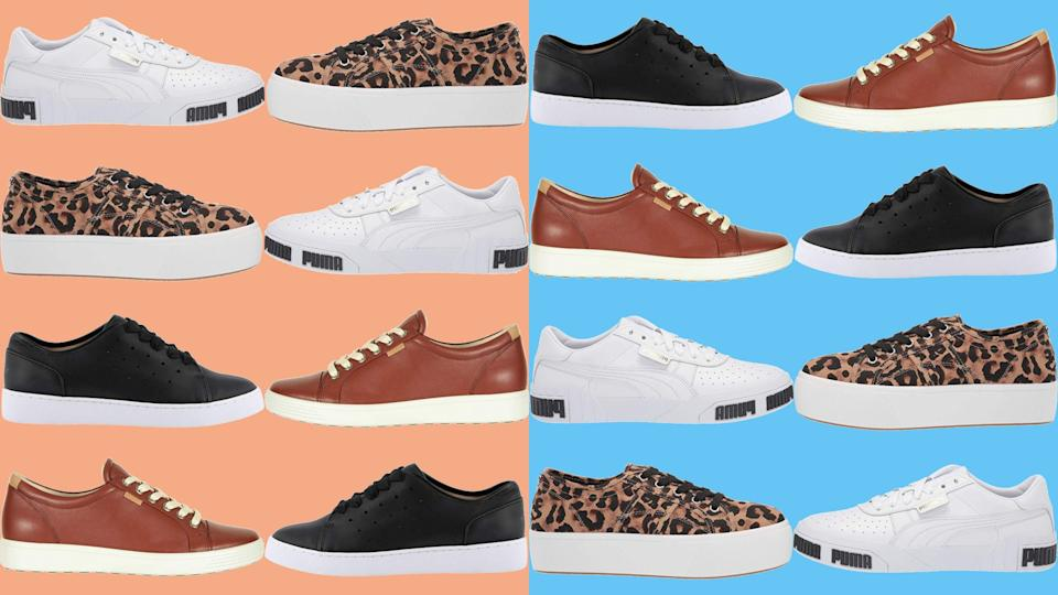 Shop back-to-school sneakers even if you aren't the one going off to campus. (Photo: Yahoo Lifestyle)