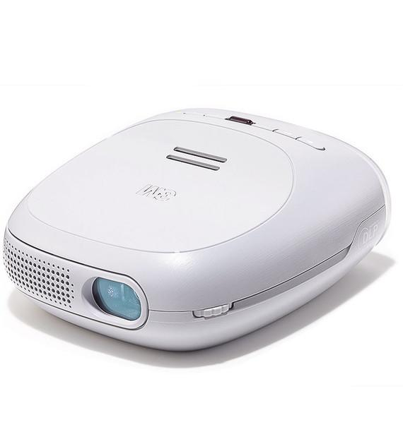 "<strong><a href=""http://yhoo.it/YY1bMF"" target=""_blank"">3M Streaming Projector Powered by Roku</a></strong><br /><br />These days, most new TVs have access to streaming services like Hulu Plus and Netflix baked right into the hardware. This pint-size gadget is the projector version of one of those smart TVs. Simply connect it to a Wi-Fi network and you have an ultra-portable, streaming home theater. It projects an image as large as 120 inches diagonally, has a serviceable built-in speaker and can run for about 95 minutes on its rechargeable battery (or continuously if you plug it in). The beauty of tiny pico projectors like these is that when they're not on, your living room looks like a living room, with no large, monolithic screen presiding over you. Although the image may not be as bright and vivid as what you might get from a full-size projector, this model takes minimalism to an extreme—you can tuck your entire A/V system away in a drawer when the movie is over. $300, <a href=""http://bit.ly/V9Zrn3"" target=""_blank"">3mmobileprojectors.com</a>"