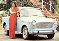 Like the Ambassador, the 'Fiat' as it was also called since it was originally a Fiat 1100, was sold for a long time. Compared to an Amby it was sportier and attracted celebrity owners in its heyday.