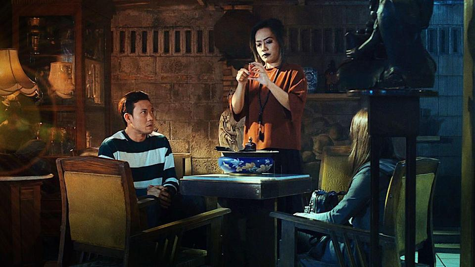 """<p>Haley Joel Osment wasn't the only kid who saw dead people. Alia's little sister does, so she goes on a mission to learn more about ghosts haunting their home. It's an Indonesian thriller, so you might want to turn on your subtitles for this one.<br></p><p><a class=""""link rapid-noclick-resp"""" href=""""https://www.netflix.com/title/81016750"""" rel=""""nofollow noopener"""" target=""""_blank"""" data-ylk=""""slk:STREAM NOW"""">STREAM NOW</a></p>"""