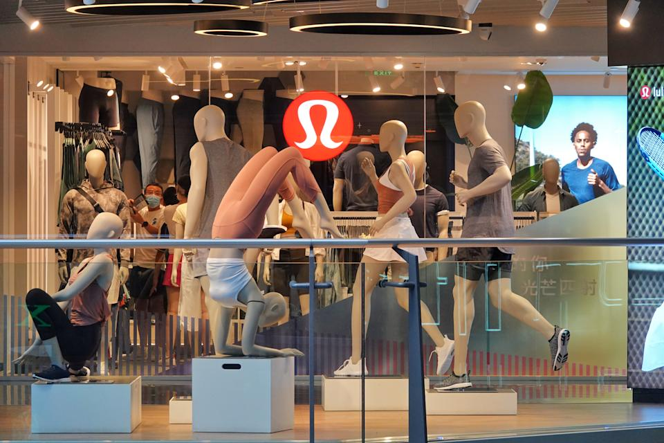 Lululemon's 'We Made too Much' sale section offers savings of up to 50% off select women's products. (Photo by Costfoto/Barcroft Media via Getty Images)