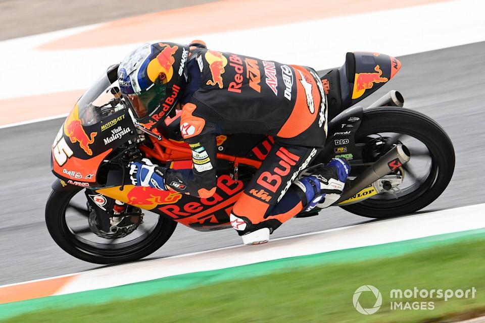 "Raul Fernandez, Red Bull KTM Ajo<span class=""copyright"">Gold and Goose / Motorsport Images</span>"