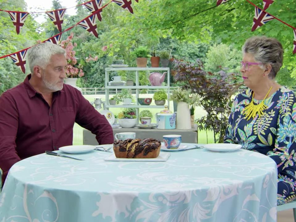 Paul Hollywood Prue Leith babka