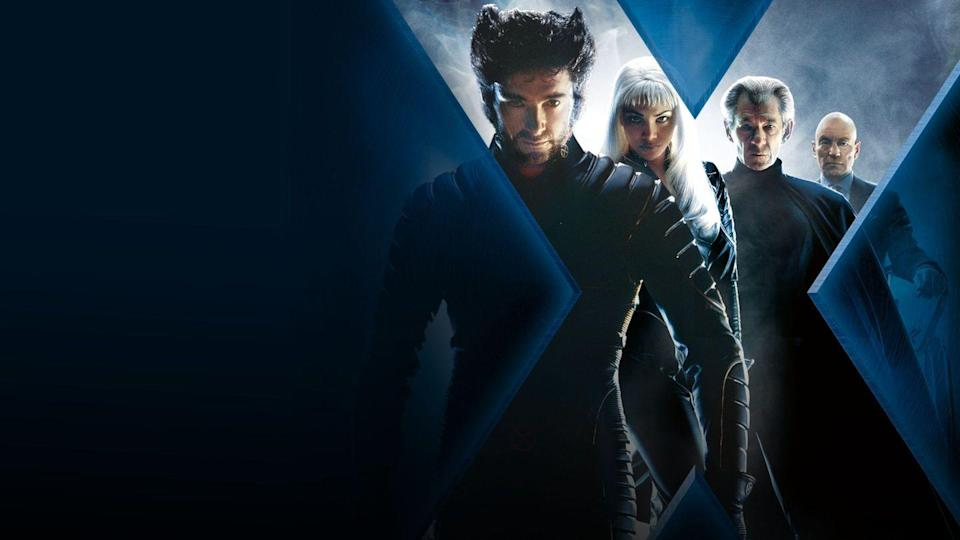 "<p>This is the first major motion picture that introduced the X-Men as we know them to film audiences: Hugh Jackman as Wolverine, Anna Paquin as Rogue, Ian McKellan as Magneto and Patrick Stewart as Professor Charles Xavier. The film mostly follows Wolverine and Rogue as they join up with the X-Men for the first time and get pulled into a conflict between Magneto and Professor X.</p><p><a class=""link rapid-noclick-resp"" href=""https://www.amazon.com/X-Men-Hugh-Jackman/dp/B000IMKDPC?tag=syn-yahoo-20&ascsubtag=%5Bartid%7C10055.g.34426978%5Bsrc%7Cyahoo-us"" rel=""nofollow noopener"" target=""_blank"" data-ylk=""slk:AMAZON"">AMAZON</a> <a class=""link rapid-noclick-resp"" href=""https://go.redirectingat.com?id=74968X1596630&url=https%3A%2F%2Fwww.disneyplus.com%2Fmovies%2Fx-men%2F4QoNe0ea49nP&sref=https%3A%2F%2Fwww.goodhousekeeping.com%2Flife%2Fentertainment%2Fg34426978%2Fx-men-movies-in-order%2F"" rel=""nofollow noopener"" target=""_blank"" data-ylk=""slk:DISNEY+"">DISNEY+</a></p><p><strong>RELATED:</strong> <a href=""https://www.goodhousekeeping.com/life/entertainment/g32021268/best-action-movies-netflix/"" rel=""nofollow noopener"" target=""_blank"" data-ylk=""slk:The Best Action Movies on Netflix to Kick It Up a Notch"" class=""link rapid-noclick-resp"">The Best Action Movies on Netflix to Kick It Up a Notch</a></p>"