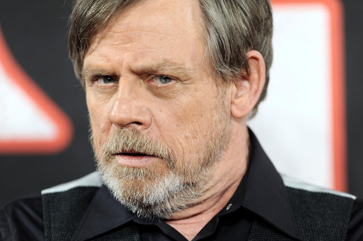 "Said Hamill: ""Maybe he's Jake Skywalker."" (Photo: Dave J Hogan via Getty Images)"