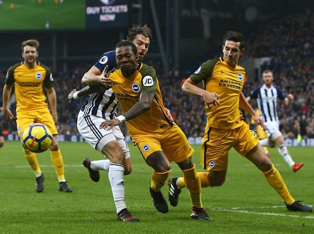Chris Hughton 'disappointed' with outcome of Gaetan Bong racism complaint against Jay Rodriguez