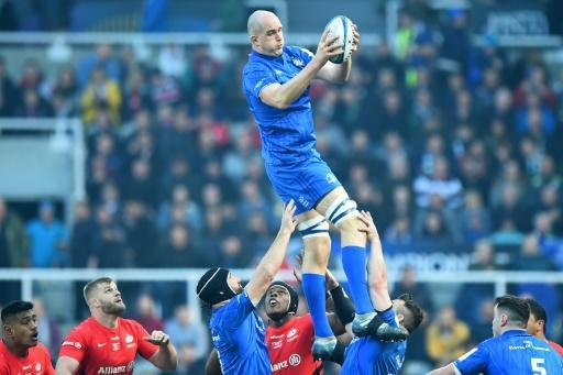 Flying high - Leinster lock Devin Toner is glad to be back in the Ireland side for their Six Nations match against England at Twickenham