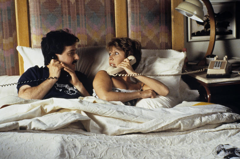 Bruno Kirby und Carrie Fisher in