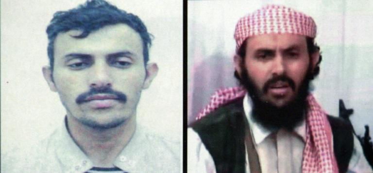 AQAP leader Qassim al-Rimi, who was killed in a US strike, seen in two undated Yemeni interior ministry documents (AFP Photo/-)