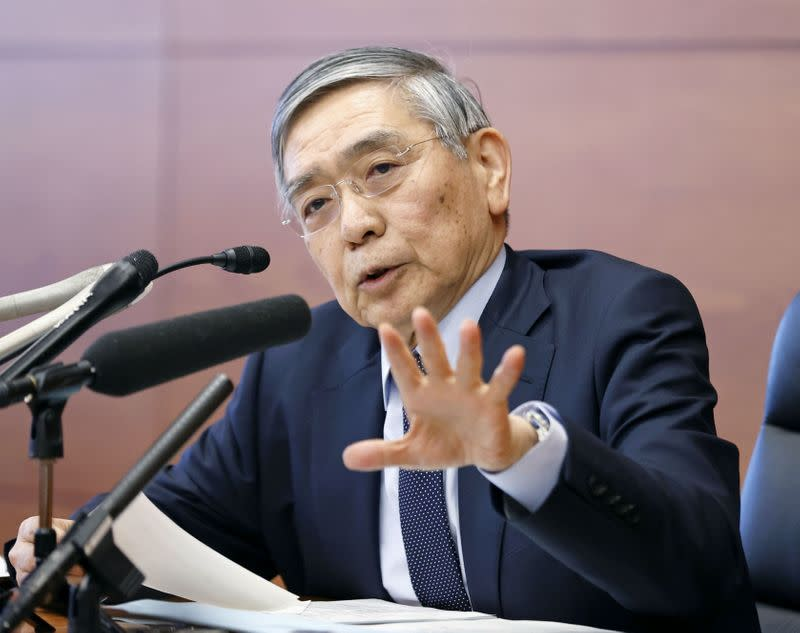 BOJ's Kuroda warns of renewed constraints on Japan economy from pandemic
