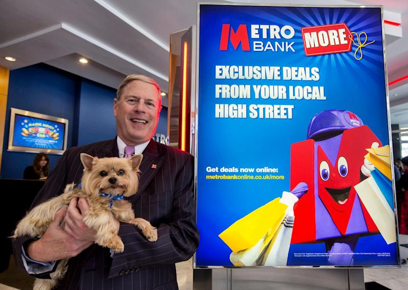 Secrets of my success: Vernon Hill is the founder of Metro Bank: Alex Lentati