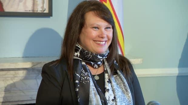 Pam Parsons was sworn in as minister for women and gender equality.