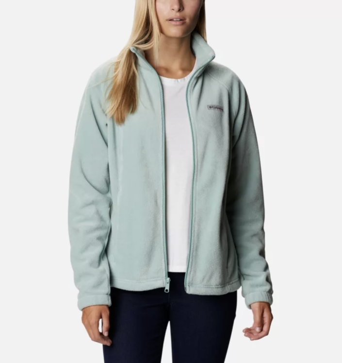 Women's Benton Springs Full Zip Fleece Jacket - Columbia, from $30 (originally $60)