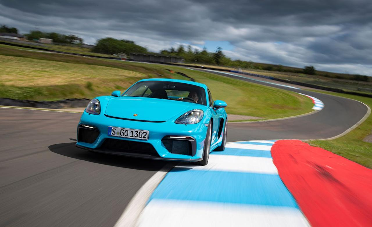 <p>The flat-six in the Spyder and Cayman GT4 is a new engine developed specifically for these models.</p>
