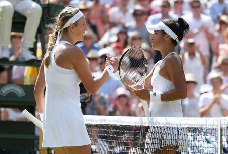 Watson bows out of Wimbledon in third round defeat