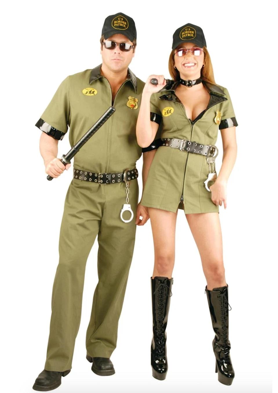 <p>Many Mexicans have faced adversity since Donald Trump was elected but that didn't stop several costume stores from releasing sexed-up border patrol looks.<br><i>[Photo: Fierce Costumes]</i> </p>