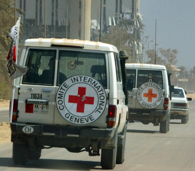 Six Red Cross workers were killed and two others were missing in northern Afghanistan, the international charity said (AFP Photo/PATRICK BAZ)