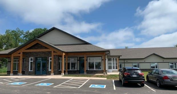 Moncton's new hospice, Albert House, has officially opened at 156 Pleasant St. (Submitted by René Bourque - image credit)
