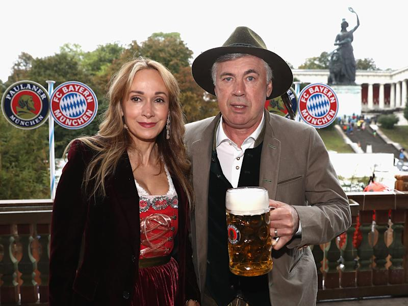 Mariann Barrena, Carlo Ancelotti's wife, labelled the officiating a 'disgrace': Getty