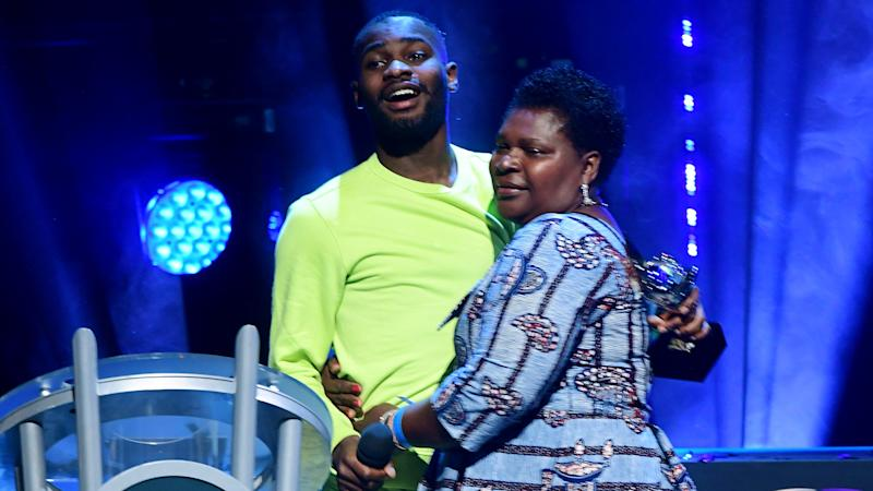 Dave thanks mother and brother for Mercury Prize win
