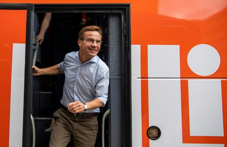 Ulf Kristersson, leader of the Moderate Party, is hoping to oust the Social Democrats, who have dominated Swedish politics for decades