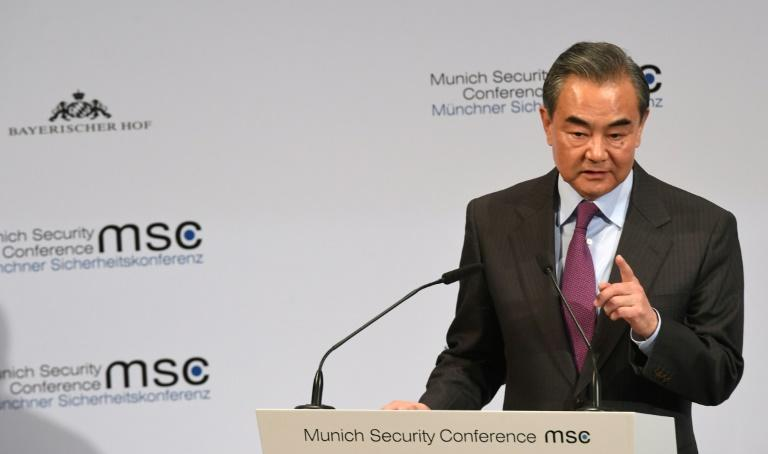 Chinese Foreign Minister Wang Yi said countries had the right to protect their information security