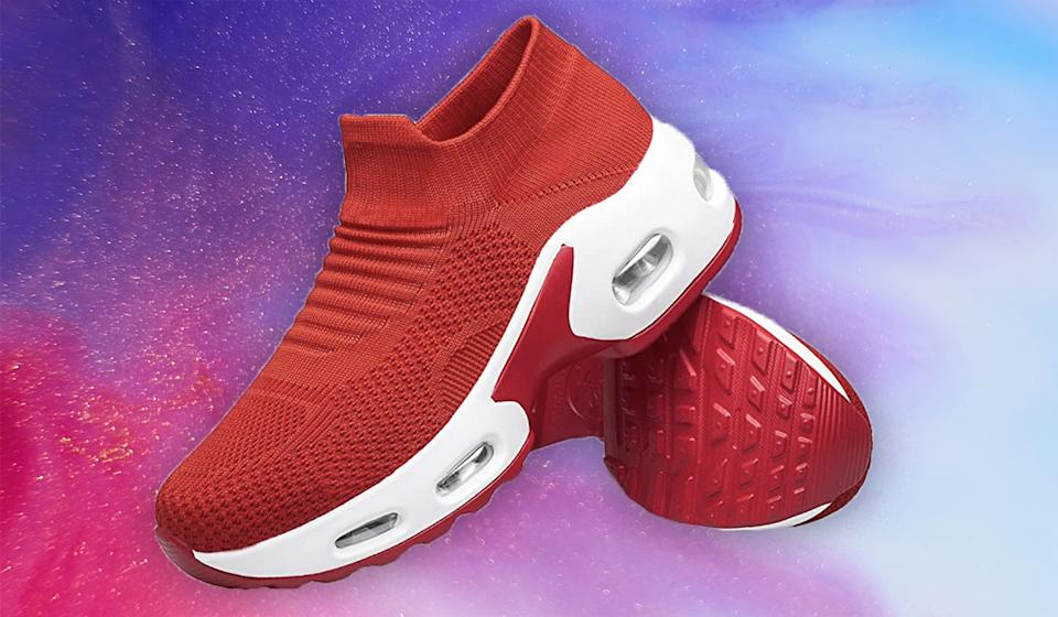 The air bubble provides incredible shock absorption. (Photo: Amazon)