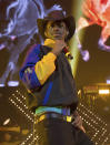 FILE - Lil Nas X performs at HOT 97 Summer Jam 2019 on June 2, 2019, in East Rutherford, N.J. Lil Nas X will perform at Sunday's BET Awards. (Photo by Scott Roth/Invision/AP, File)