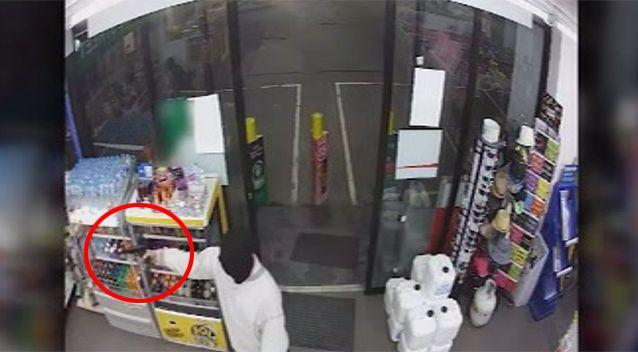 One robber was armed with what appeared to be a handgun.  Source: Victoria Police