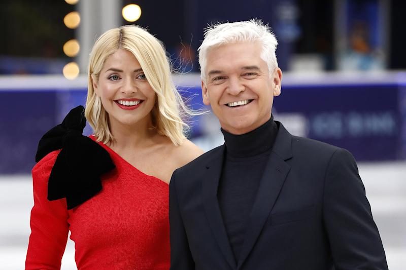 Hosts: Who will Holly Willoughby and Phillip Schofield welcome onto the rink next year?: John Phillips/Getty Images