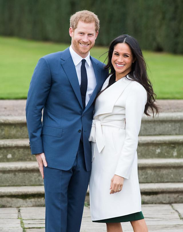 "<p>In other royal news, Prince Harry has found his <a href=""https://www.yahoo.com/lifestyle/tagged/prince-harry"" data-ylk=""slk:future princess"" class=""link rapid-noclick-resp"">future princess</a>, popping the question to <em>Suits</em> actress Meghan Markle in November. The couple revealed in a BBC interview that he proposed during a quiet night at home while they <a href=""https://www.yahoo.com/lifestyle/meghan-markle-prince-harry-engaged-100348057.html"" data-ylk=""slk:roasted a chicken;outcm:mb_qualified_link;_E:mb_qualified_link"" class=""link rapid-noclick-resp newsroom-embed-article"">roasted a chicken</a>. The pair, who were set up on a blind date by a mutual friend in July 2016, plan to get married in May 2018. (Photo: Getty Images) </p>"