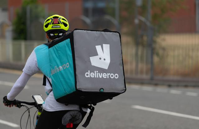 Deliveroo hit back after its ad was banned. Photo: Matthew Horwood/Getty Images