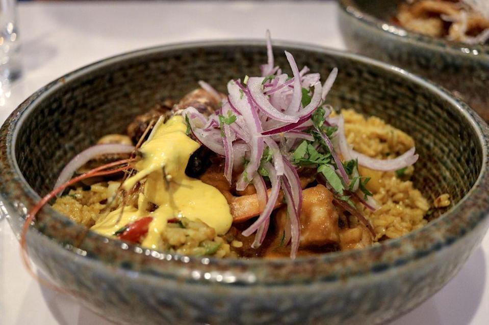 """<p><strong><a href=""""https://www.yelp.com/biz/inkanto-peruvian-cuisine-fort-lauderdale"""" rel=""""nofollow noopener"""" target=""""_blank"""" data-ylk=""""slk:Inkanto Peruvian Cuisine"""" class=""""link rapid-noclick-resp"""">Inkanto Peruvian Cuisine</a>, Fort Lauderdale</strong></p><p>""""I really wanted ceviche and the one here did not disappoint. I had it mixed with shrimp and the spiciness was truly a wonderful finish to an already amazing dish."""" — Yelp user <a href=""""https://www.yelp.com/user_details?userid=lQR-vLxcV70AMMIk2wgEZA"""" rel=""""nofollow noopener"""" target=""""_blank"""" data-ylk=""""slk:Sheila P."""" class=""""link rapid-noclick-resp"""">Sheila P.</a></p><p>Photo: Yelp/<a href=""""https://www.yelp.com/user_details?userid=lQR-vLxcV70AMMIk2wgEZA"""" rel=""""nofollow noopener"""" target=""""_blank"""" data-ylk=""""slk:Sheila P."""" class=""""link rapid-noclick-resp"""">Sheila P.</a></p>"""