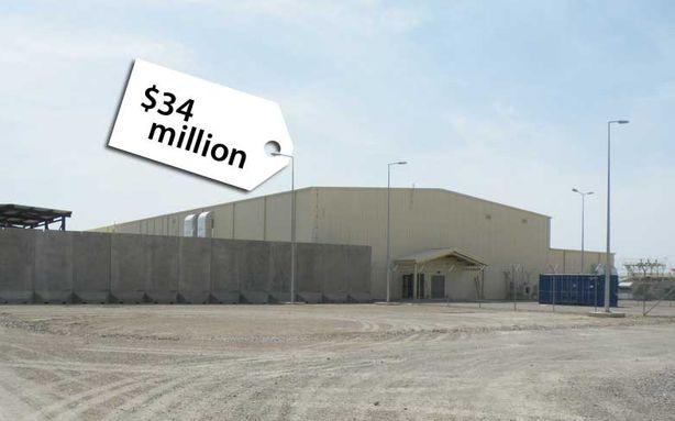 U.S. Blew $34 Million on Unused Afghan Facility Now Likely to Be Torn Down