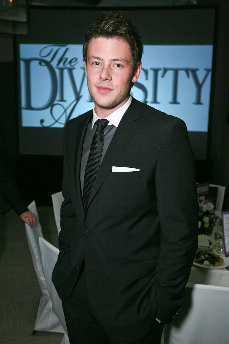 Cory Monteith (Photo by Tiffany Rose/Getty Images)