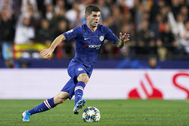 High-flying Christian Pulisic has scored six goals in Chelsea's last eight games. (Getty)