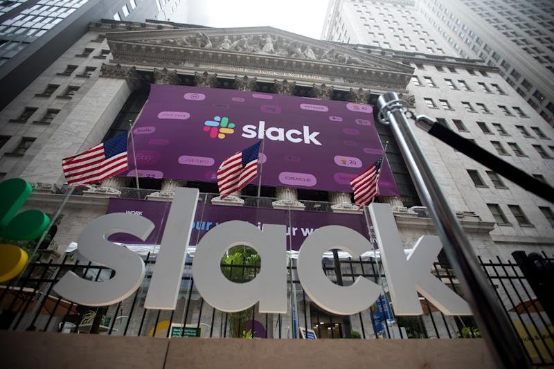 Slack Shares Open at $38.50 on NYSE After Unusual Direct Listing